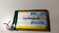 АКБ (Аккумулятор) Li-ion 503759 1100mAh 3.7V, размеры 60*31*5 для Bbk Навигатор N5055Gs Б/у арт. 4894