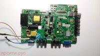 Основная плата (Main Board) Восстановленная TP.MS18VG.P77 MS82PT Panel TCL LVW320CS0T E146 V1 для Telefunken Lcd Телевизор Tf-Led32S23 Б/у арт. 4907