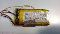 АКБ (Аккумулятор) Li-ion TG 703060 3.7V, размеры 59*30*7 для Shturmann Навигатор Link 500Sl Б/у арт. 3482