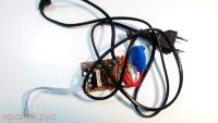 Плата питания Power Board A-685-1 с кабелем питания и кнопкой включения для Bbk Dvd Dvp034S Б/у арт. 3386