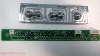 Плата управления Плата кнопок LCD--Botton-REV:1.0 для Roverscan Lcd Монитор L1501B Б/у арт. 4330
