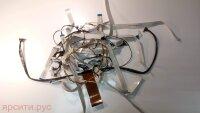 Шлейф LVDS + T-CON + Комплект межплатных шлейфов и кабелей для Pioneer Плазменный Телевизор Pdp-505Pe Б/у арт. 7119
