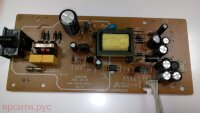 Плата питания Power Board POW516B rev:1.2 TAS000063XX с кабелем питания для Toshiba Dvd Sd-K670Sr2 Б/у арт. 4745