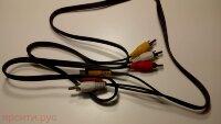 AV Кабель 3 RCA Male для Bbk Цифровая Приставка Stb105 Б/у арт. 5348