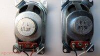 Динамик 2 Динамика Левый и Правый с кабелем и разъемом для основной платы 8 OHM 3W для Bbk Lcd Телевизор Ld1534Su Б/у арт. 3848