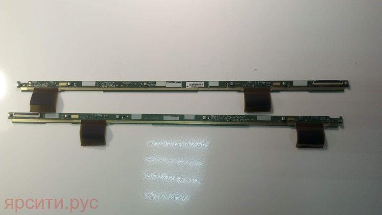 Плата разъемов 2 Driver Board 2 планки LCD LC430DUY-SHA1 LC430DUY(SH)(A1) 6870S-1932C V15 43FHD Left RIGHT Ver 1.0_H/F 6870S-1933C для Haier Lcd Телевизор Le43K6000Sf Б/у арт. 9635