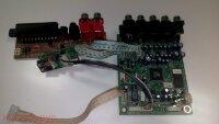Плата декодера Decoder Board 7231-1 2DV611SI-2 V2.04 с платами разъемов для Bbk Dvd Dv624Si Si2.30 Б/у арт. 4750