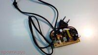 Плата питания Power Board YJ-POWER-SW253G-REV1.3 с кабелем питания для Rolsen Dvd Rdb-301 Новое арт. 3413