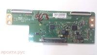 Плата разъемов 2 T-con Board Модуль управления LCD панелью V15 FHD DRD_non_scaning_v0.3 6870C-0532A панели LC430DUY-SHA1 для Haier Lcd Телевизор Le43K6000Sf Б/у арт. 9639