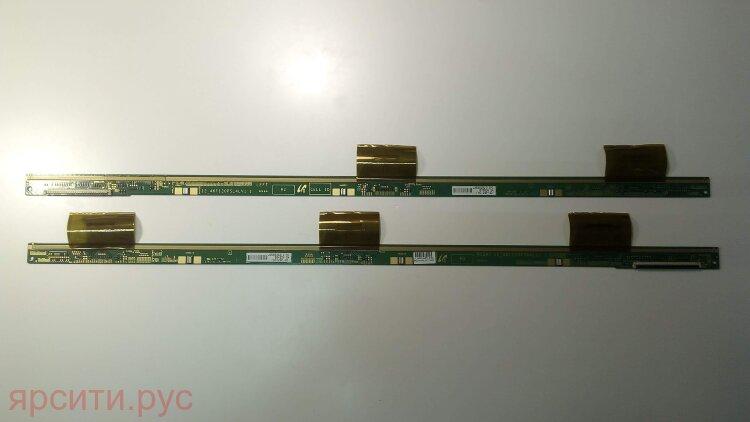 Плата разъемов Телевизор ЖК Driver Board 2 планки драйвера LCD Samsung LTJ460HW05-L CW39 LSJ460HW05-E08 12_46F120PSL4LV1.1 12_46F120PSR4LV1.1 для Samsung Lcd Телевизор Ue46Es6307U Ti02 Б/у арт. 11044