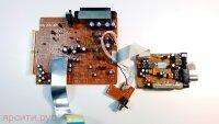 Плата разъемов Scart Jack PCB AH41-00583A + Tuner Board Тюнер Плата тюнера AH40-00042A FM со шлейфом для Samsung Домашний Кинотеатр Ht-Dm150N Б/у арт. 3430